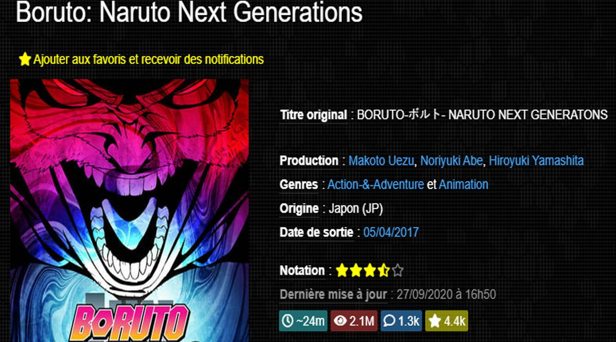 Boruto - naruto next generation