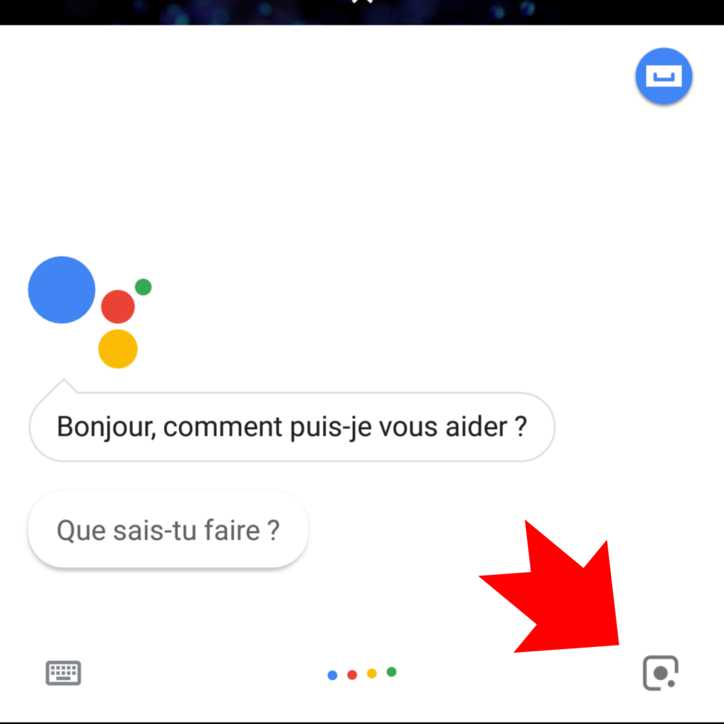 Google lens qr code android