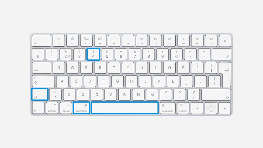 comment faire une capture d'écran sur mac